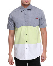 Button-downs - Tri Color S/S Button-Down
