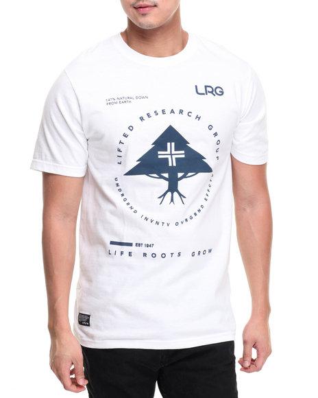 Lrg Men Rc Pinnacle T-Shirt White Small