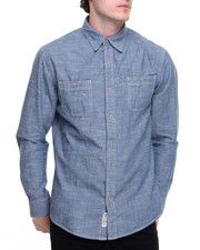 Men - Chambray Two Pocket L/S Button-Down