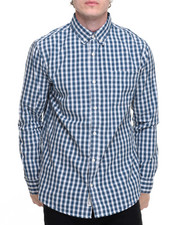 Men - Single Pocket L/S Button-Down