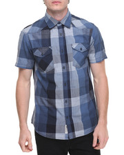 Men - Western Plaid S/S Button-Down