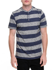 Henleys - Striped S/S Henley