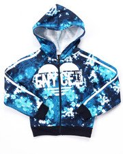 Sizes 4-6x - Kids - TIE DYE FULL ZIP JACKET (4-6X)
