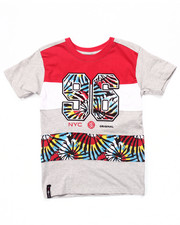 Sizes 8-20 - Big Kids - TIE DYE CUT & SEW TEE (8-20)