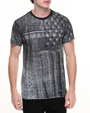 Men - American Denim Print Tee