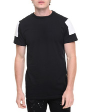 Men - Camisetas Gold Zipper Elongated Tee
