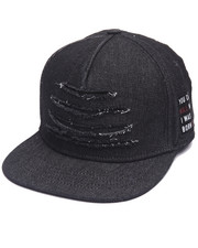 Men - Coreleone Denim Rip Snapback Hat