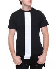 Men - Box Panel Extended Back Tee
