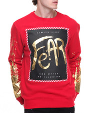 Men - Liquid Metal Fear Crewneck