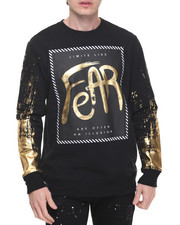 Sweatshirts & Sweaters - Liquid Metal Fear Crewneck