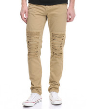 Jeans & Pants - Distressed Twill Pants