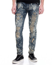 Jeans & Pants - Vintage Splatter Distressed Jogger Jean