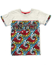 Sizes 8-20 - Big Kids - TIE DYE LOGO TEE (8-20)