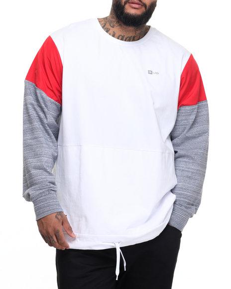 Lrg Men Panic Sweatshirt (B&T) White 3X-Large