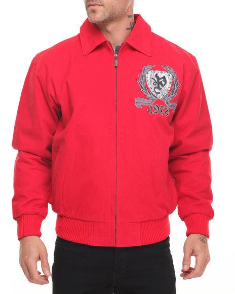 Pelle Pelle Men Reign Supreme Jacket Red X-Large
