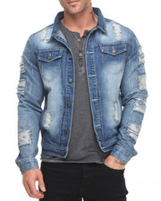 Denim Jackets - Rip & Repair Denim Jacket