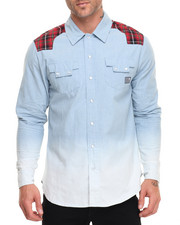 Shirts - MEDIEVAL WESTERN BUTTON - DOWN