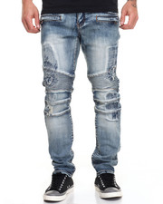 Buyers Picks - Distressed Blasted Moto Jean