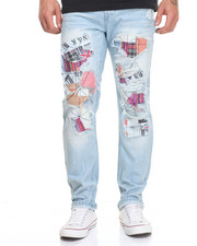 Jeans & Pants - Multi Patch Jean