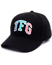Men - Y F G CURVED SNAPBACK HAT