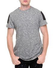 Shirts - Camisetas Elongated S/S Tee with Zip Detail