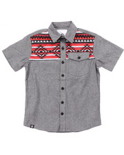 Button-downs - AZTEC CHAMBRAY WOVEN (8-20)