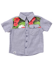Boys - TROPICAL CHAMBRAY WOVEN (2T-4T)