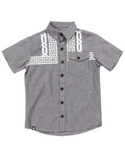 Boys - CHAINS CHAMBRAY WOVEN (8-20)