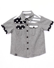 Button-downs - AMERICANA CHAMBRAY WOVEN (4-7)