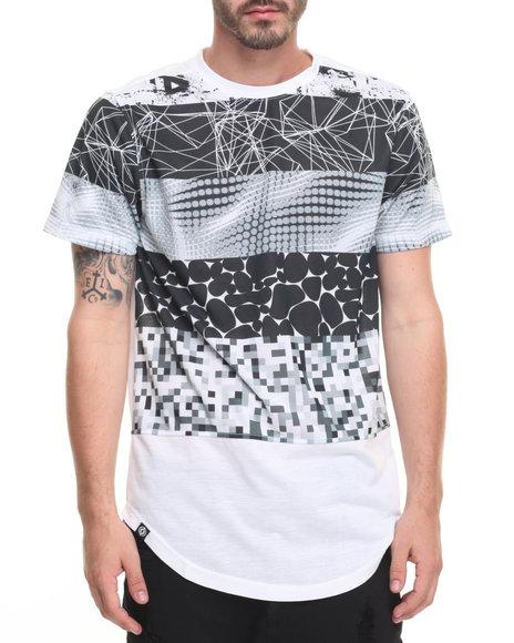 Akademiks Men Fire T-Shirt White Large