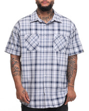 Akademiks - Adam S/S Button-Down (B&T)