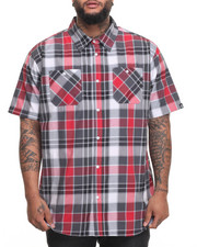 Akademiks - Eli S/S Button-Down (B&T)