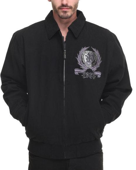 Pelle Pelle Men Reign Supreme Jacket Black X-Large