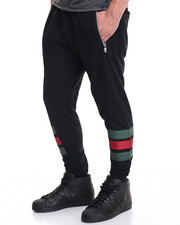 Buyers Picks - Green & Red Color block Jogger