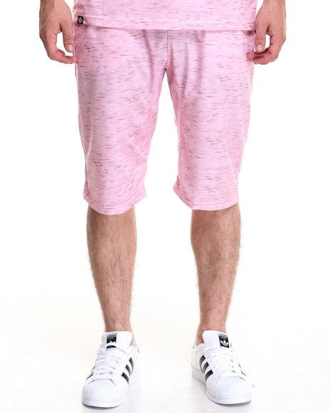 Akademiks Men Jumpshot Knit Short Pink X-Large
