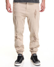 Men - Bravo Twill Destroyed Jogger