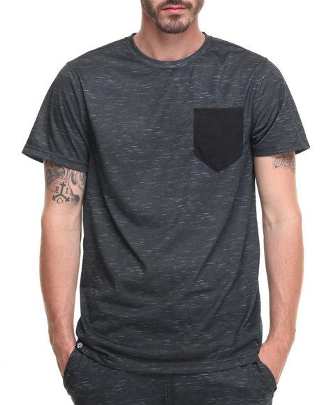 Akademiks Men Bluez T-Shirt Black Medium