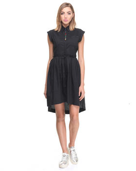 -FEATURES- - D-CASEY POPLIN DRESS