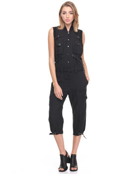 -FEATURES- - J-ATTIE MILITARY JUMPSUIT