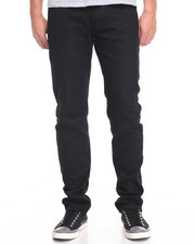Basic Essentials - Slim - Straight Twill Pants