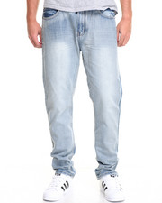 Basic Essentials - Ice Blue Flap - Pocket Denim Jeans