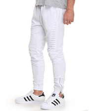 Men - Side - Slit French Terry Joggers