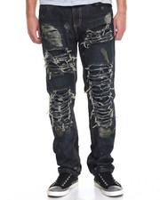 Jeans & Pants - Destructed Rip - And - Tear Denim Jeans