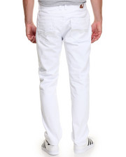 Jeans & Pants - White - Out Fashion Denim Jeans