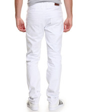 Jeans & Pants - Slim - Straight Twill Pants
