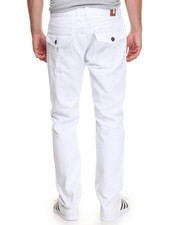 Jeans & Pants - White - Out Flap - Pocket Denim Jeans