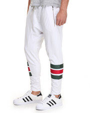 Jeans & Pants - Green & Red Color block Jogger
