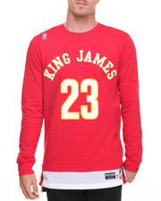 Jerseys - King James Jersey - Bottom Crewneck Sweatshirt
