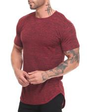 T-Shirts - Marled Length Tee