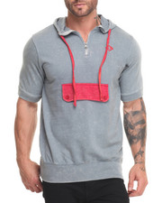 Men - S/S Pocket Hoodie
